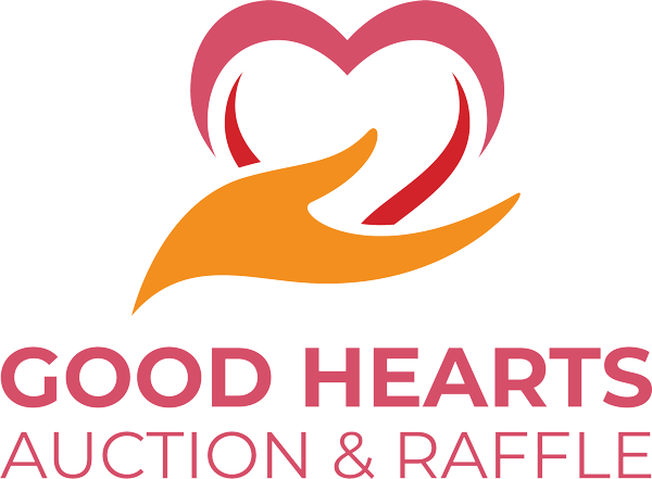 Good Hearts Raffle Logo